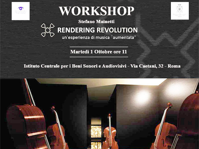 Workshop Discoteca di Stato